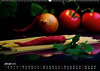 Pasta KreationenCH-Version (Wandkalender 2019 DIN A2 quer) - Produktdetailbild 1