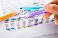 Pastell-Textmarker, radierbar, 6tlg. - Produktdetailbild 2