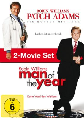 Patch Adams / Man of the Year, Steve Oedekerk, Barry Levinson