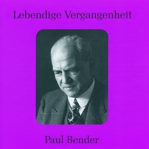 Paul Bender, Paul Bender