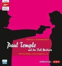 Paul Temple und der Fall Madison, 1 MP3-CD, Francis Durbridge