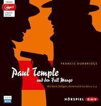 Paul Temple und der Fall Margo, 1 MP3-CD, Francis Durbridge