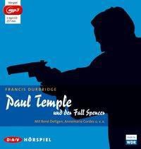 Paul Temple und der Fall Spencer, 1 MP3-CD, Francis Durbridge