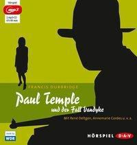 Paul Temple und der Fall Vandyke, 1 MP3-CD, Francis Durbridge