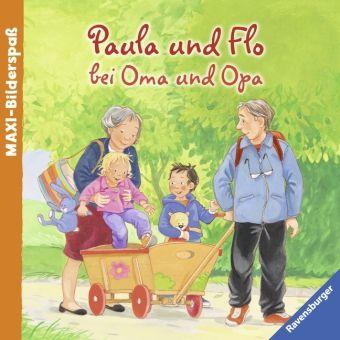 Paula und Flo bei Oma und Opa, Sandra Grimm