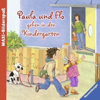 Paula und Flo gehen in den Kindergarten, Sandra Grimm