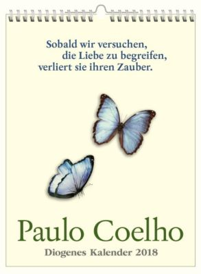 Paulo Coelho Wandkalender 2018, Paulo Coelho
