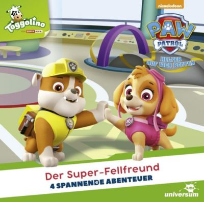 Paw Patrol, 1 Audio-CD, Diverse Interpreten