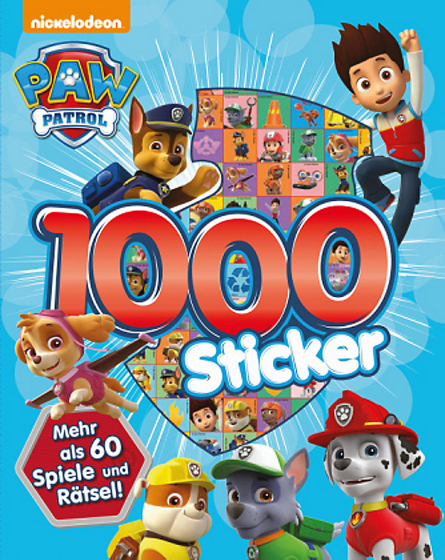Paw Patrol 1000 Sticker Buch Bei Weltbildch Online Bestellen