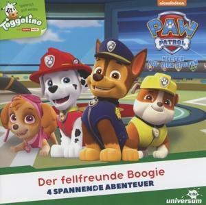 Paw Patrol - Der fellfreunde Boogie, 1 Audio-CD, Paw Patrol - Helfer auf vier Pfoten