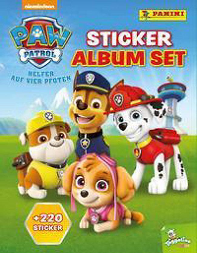 Paw Patrol Sticker Album Set Jetzt Bei Weltbildde Bestellen