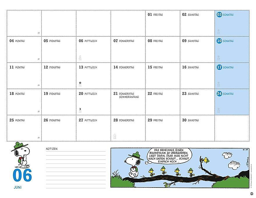 Peanuts Monatsplaner 2018 Kalender Bei Weltbild De Bestellen