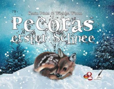 Pecoras erster Schnee - Pecoras first snow, Karina Verlag, Wiebke Worm, Karin Pfolz
