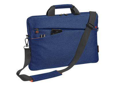 PEDEA 43,9cm 17,3 Zoll NB-Tasche Fashion blau Innenfach: 44 x 32,5 x 3 cm L x B x H