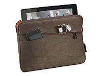 PEDEA Fashion Tablet-Tasche 25,7cm 10,1 Zoll   braun Innenfach: 27,8 x 20 x 2 cm L x B x H - Produktdetailbild 2