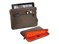 PEDEA Fashion Tablet-Tasche 25,7cm 10,1 Zoll   braun Innenfach: 27,8 x 20 x 2 cm L x B x H - Produktdetailbild 1