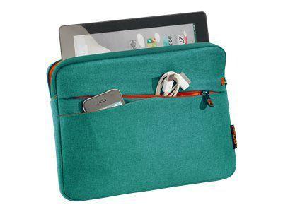 PEDEA Fashion Tablet-Tasche 25,7cm 10,1 Zoll tuerkis Innenfach: 27,8 x 20 x 2 cm L x B x H