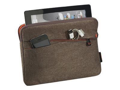 PEDEA Fashion Tablet-Tasche 32,8cm 12,9Zoll braun Innenfach: 32 x 23 x 3cm L x T x H