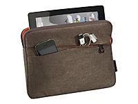 PEDEA Fashion Tablet-Tasche 32,8cm 12,9Zoll braun Innenfach: 32 x 23 x 3cm L x T x H - Produktdetailbild 1