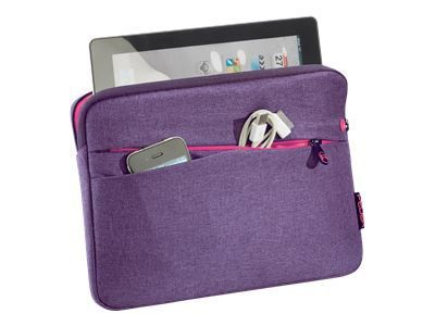 PEDEA Fashion Tablet-Tasche 32,8cm 12,9Zoll lila Innenfach: 32 x 23 x 3cm L x T x H