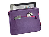 PEDEA Fashion Tablet-Tasche 32,8cm 12,9Zoll lila Innenfach: 32 x 23 x 3cm L x T x H - Produktdetailbild 1