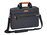 PEDEA Notebooktasche Elegance Pro 43,9cm 17,3Zoll grau Notebookfach: 42 x 30 x 5 cm Tabletfach: 27 x 20 x 2 cm - Produktdetailbild 1