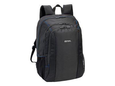 PEDEA Rucksack 43,9cm 17,3Zoll schwarz/blau Laptopfach: 43,5 x 32,5 x 6cm L x B x H Headsetfach: 44 x 34 x 6cm L x B x H