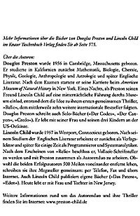 Pendergast Band 7: Maniac - Fluch der Vergangenheit - Produktdetailbild 2