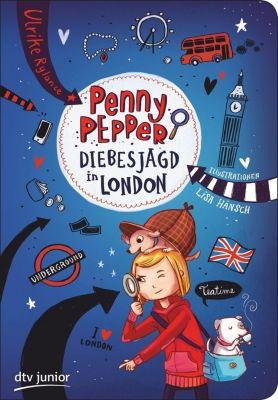 Penny Pepper - Diebesjagd in London, Ulrike Rylance