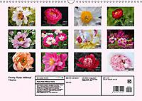 Peony Rose Without Thorns (Wall Calendar 2019 DIN A3 Landscape) - Produktdetailbild 13