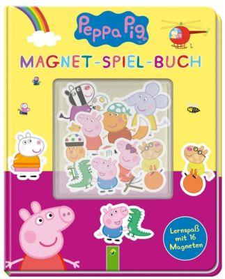 Peppa Pig Magnet-Spiel-Buch - Laura Teller pdf epub