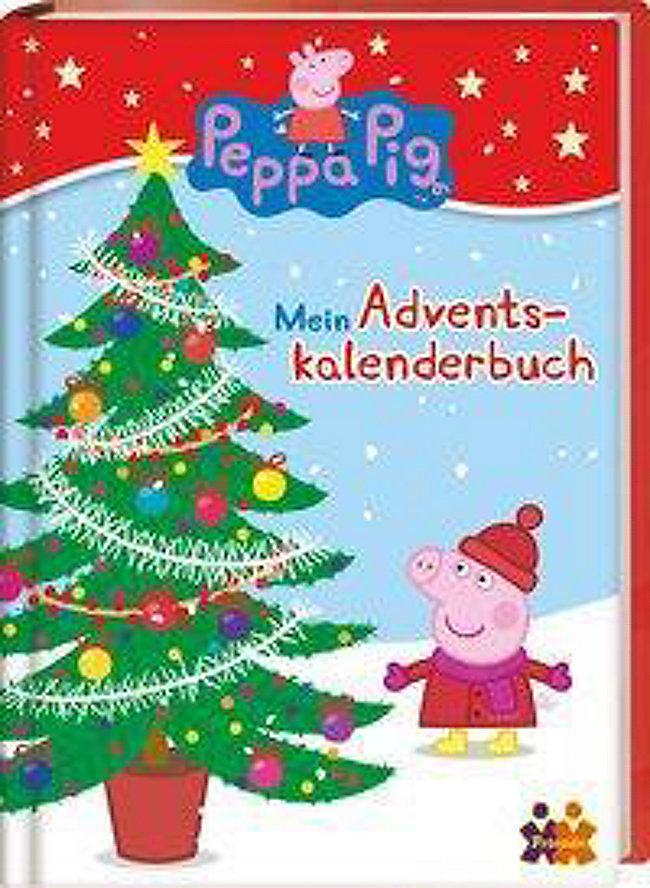 Peppa Pig. Mein Adventskalenderbuch Buch bestellen - Weltbild.de