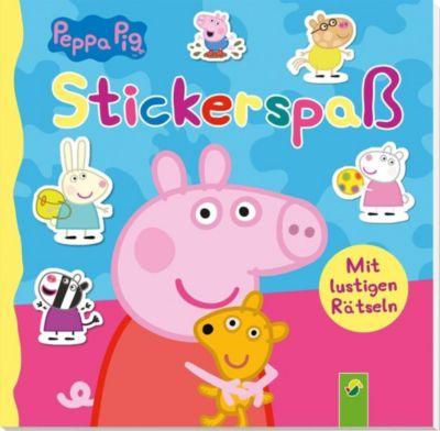 Peppa Pig Stickerspaß -  pdf epub