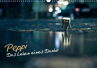 Peppi - Das Leben eines Danbo (Wandkalender 2019 DIN A3 quer), Oliver Totzke - koliamera