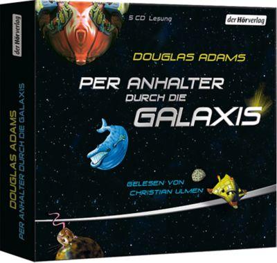 Per Anhalter durch die Galaxis, 5 Audio-CDs, Douglas Adams