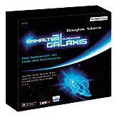 Per Anhalter durch die Galaxis - Das Restaurant am Ende des Universums, 6 Audio-CDs, Douglas Adams