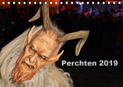 Perchten 2019 (Tischkalender 2019 DIN A5 quer), Dominik Ultes