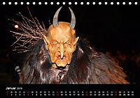 Perchten 2019 (Tischkalender 2019 DIN A5 quer) - Produktdetailbild 1