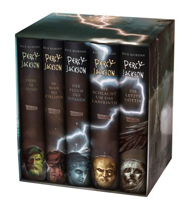 Percy Jackson, 5 Bände im Schuber, Rick Riordan