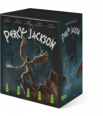 Percy Jackson, 5 Bde., Rick Riordan