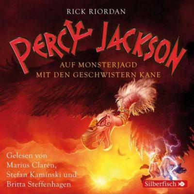 Percy Jackson - Auf Monsterjagd mit den Geschwistern Kane, 3 Audio-CDs, Rick Riordan
