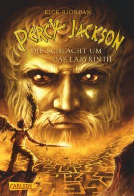 Percy Jackson Band 4: Die Schlacht um das Labyrinth, Rick Riordan