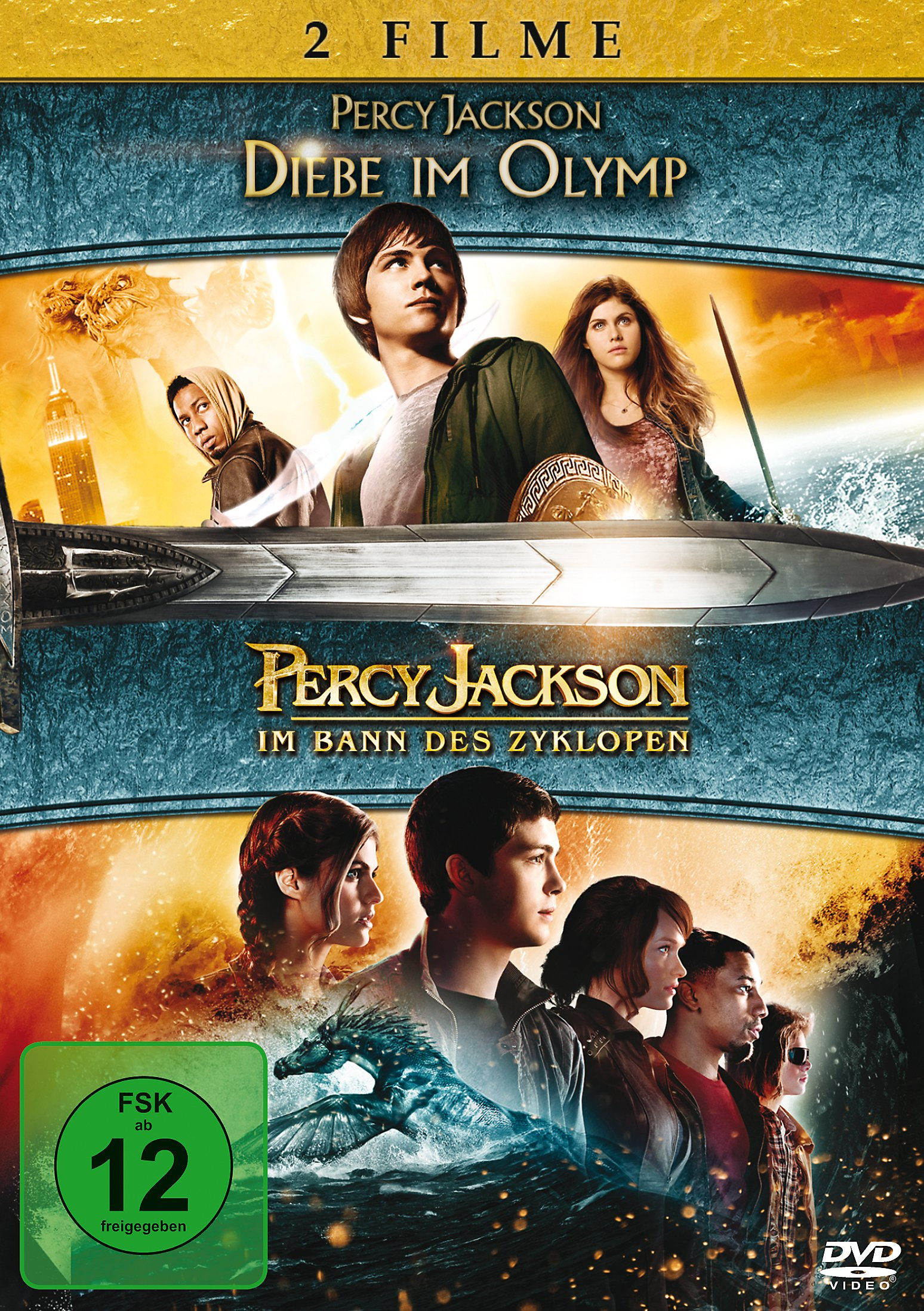 2018 sneakers large discount fast delivery Percy Jackson: Diebe im Olymp & Im Bann des Zyklopen Film ...