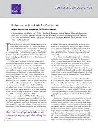 Performance Standards for Restaurants, Deborah Cohen, Mary T. Story, Rajiv Bhatia