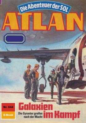 Perry Rhodan - Atlan-Zyklus Anti-ES Band 644: Galaxien im Kampf (Heftroman), Peter Terrid