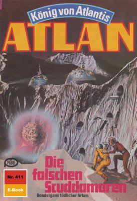 Perry Rhodan - Atlan-Zyklus Die Schwarze Galaxis (Teil 1) Band 411: Die falschen Scuddamoren (Heftroman), Hans Kneifel