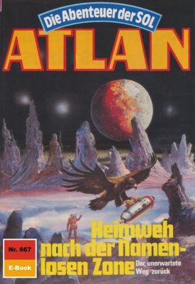 Perry Rhodan - Atlan-Zyklus Namenlose Zone / Alkordoom Band 667: Heimweh nach der Namenlosen Zone (Heftroman), Hubert Haensel