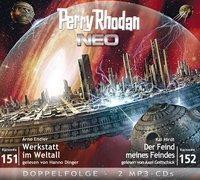 Perry Rhodan NEO - Werkstatt im Weltall / Der Feind meiner Feinde, 1 MP3-CD, Arno Endler, Kai Hirdt