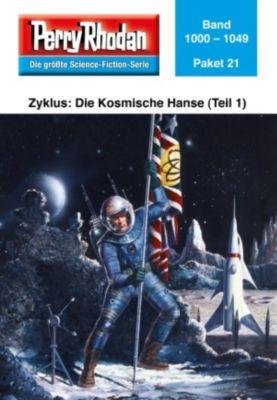 Perry Rhodan - Paket Band 21: Die Kosmische Hanse (Teil 1)