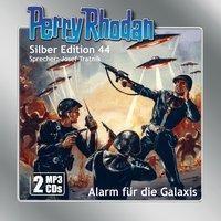 Perry Rhodan Silber Edition - Alarm für die Galaxis, 1 MP3-CD, Clark Darlton, Hans Kneifel, William Voltz